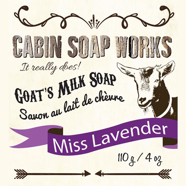 Miss Lavender Goats Milk Soap