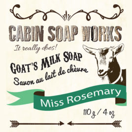 Miss Rosemary Goats Milk Soap