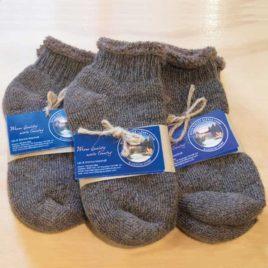 Alpaca Fibre Terry Slipper Socks
